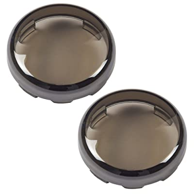 Amazicha Smoke Bullet Turn Signal Lens Covers for Harley-Davidson 1997-2020: Automotive