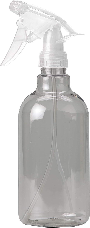 LaundrySpecialist® Botella PULVERIZADORA Rosa/Verde/Azul, 0,5 litros, para pulverizar la Ropa con Agua destilada/perfumada para Eliminar Las Arrugas Rebeldes (1ud)