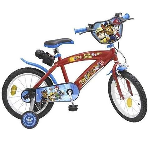 TOIMS Paw Patrol Bicicleta de Niño, tamaño 14 Pulgadas: Amazon.es: Deportes y aire libre
