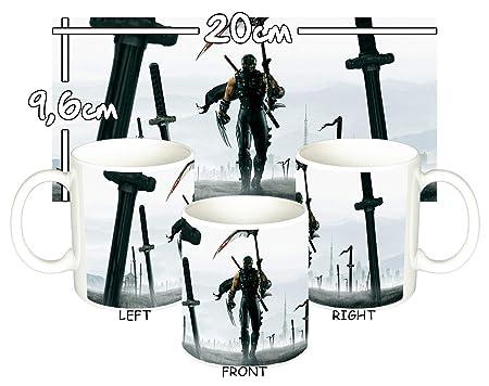 MasTazas Ninja Gaiden 2 Taza Mug: Amazon.es: Hogar