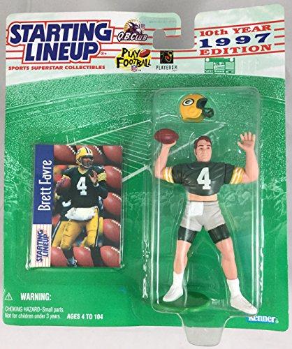 1997 KENNER STARTING LINEUP NFL BRETT FAVRE GREEN BAY PACKERS SEALED IN PACKAGE (Brett Favre Figurine)