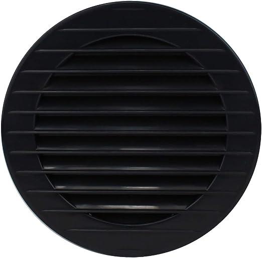 MKK/ Protecci/ón contra insectos color blanco gris marr/ón 60/70/80/90/100/mm, Marr/ón /17969/ /Rejilla de ventilaci/ón rejilla de ventilaci/ón exterior