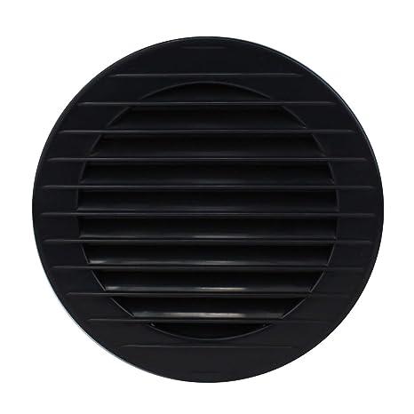 MKK/-/17969/-/Rejilla de ventilaci/ón Rejilla de ventilaci/ón Exterior Protecci/ón contra Insectos Color Blanco Gris marr/ón 60/70/80/90/100/mm, Marr/ón