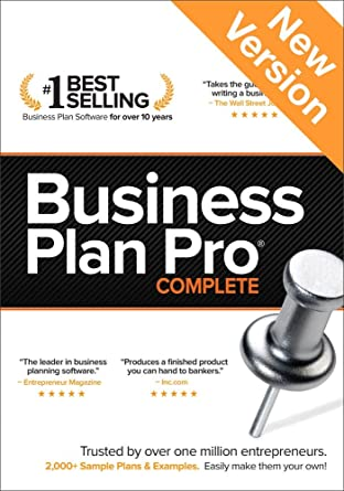Amazon.com: Business Plan Pro Complete v 12 [Download]: Software