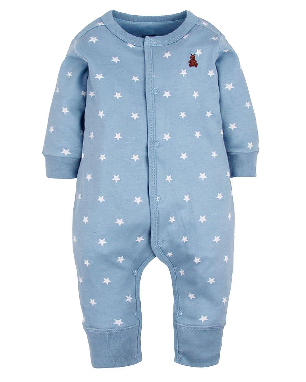 Amazon.com: Kidsform Baby Cotton Romper Infant Pajamas Boys Girls ...