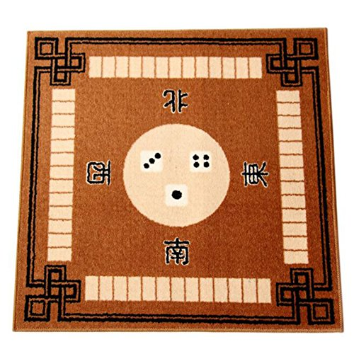 JUMP Table Cover for Mahjong, Poker, and All Other Tile and Card Games, 30.8 x 30.8 Inches (Professional Mahjong)