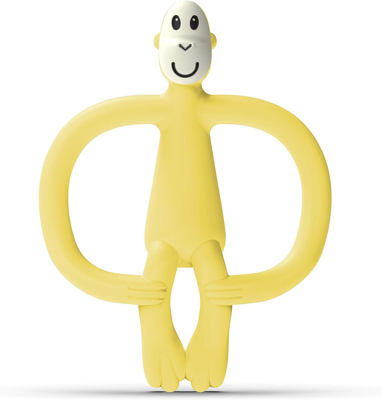 Matchstick Juego de dentici/ón de mono amarillo amarillo Talla:6-18 Months