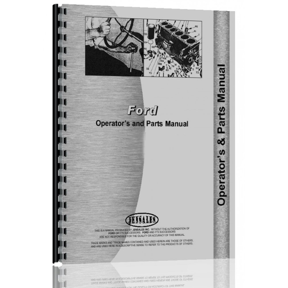 Ford 6600 Parts Diagram Tractor Wiring Harness Operator Manual For Backhoe Attachment Industrial Scientific 1000x1000