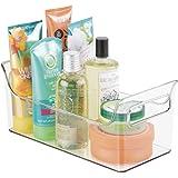 mDesign Portable Bathroom Vanity Under Cabinet Health and Beauty Supplies Caddy Organizer