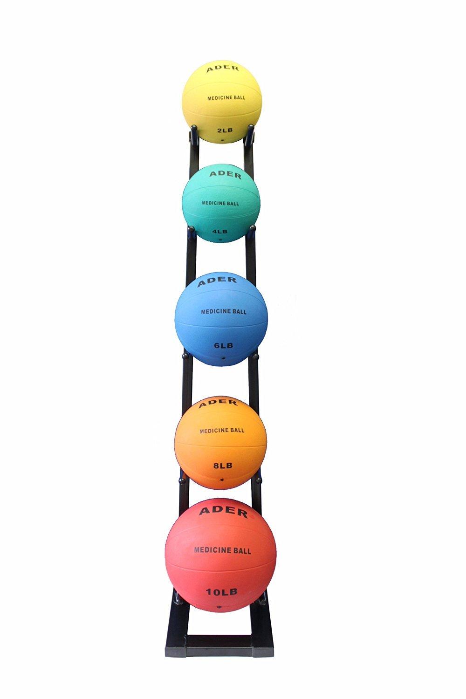 Ader Rubber Medicine Ball 1 Kg -10 Kg