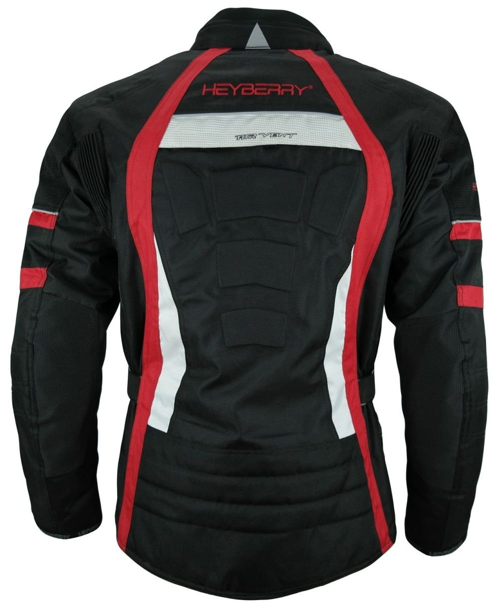 HEYBERRY Touren Motorrad Jacke Motorradjacke Textil Camouflage gr/ün Gr 5XL