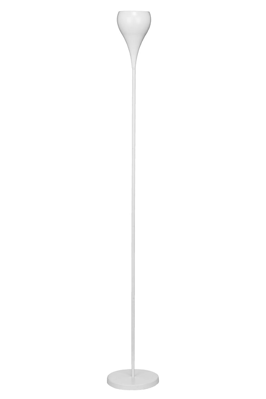 Premier PREM-2501376 Lampada da Terra Metallo Bianco