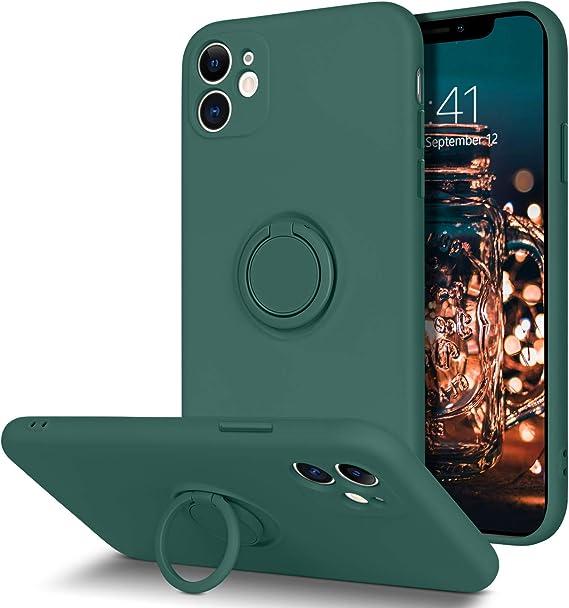 Bentoben Iphone 11 Hülle Silikon Case Mit Ring Halter Elektronik