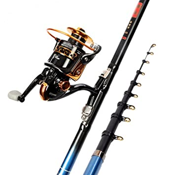 Rods Mazhong Fishing And Reel Assembly Kit Carbon Fiber