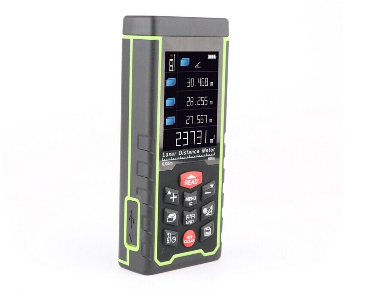 Kaleas Profi Laser Entfernungsmesser Ldm 500 60 Bedienungsanleitung : Memeda rzas50 m neuesten tragbaren farbe maßband digital entfernung