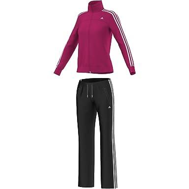 5031f1284aa56 adidas ESS 3S KNIT SUIT - Survêtement Femme  Amazon.fr  Vêtements et ...