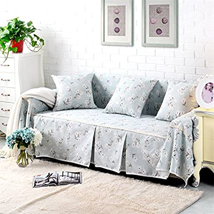 RUGAI UE Sofa Slipcover Cotton Fabric Sofa Full Cover Sofa Cover Sofa  Package Sofa Cushion