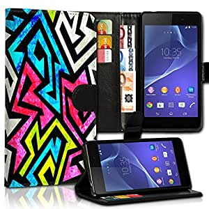 Wallet Wicostar–Funda Case Funda Carcasa diseño Funda para Samsung Galaxy S6SM–G920–Diseño Flip mvd91