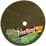 """Perm-a-mulch 24"""" Brown Mulch Mat Tree Ring"""