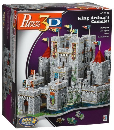 Puzz 3D Puzzle CAMELOT 620 pieces by puzz 3d