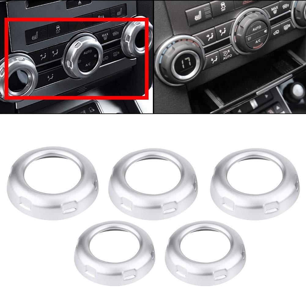 Auto Klimaanlage Einstellung Schalter Taste Abdeckrahmen Air Vent Outlet Chromed Cover