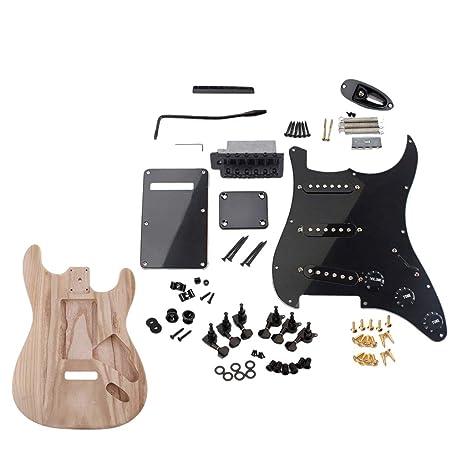 B Baosity Guitarra Práctica Cuerpo De Madera + Juego De ...