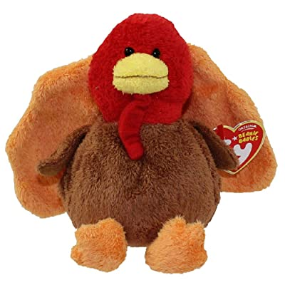 TY Beanie Baby - GOBBLED the Turkey: Toys & Games