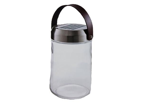 Tcm tchibo solar lampada decorativa in vetro per interno o esterno