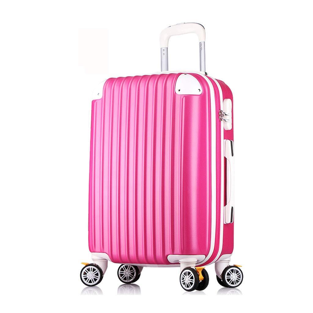 スーツケース超軽量ABSハードシェル旅行は4つのホイール、航空&詳細情報のために承認されたハードシェルトロリーサイズのアドオンキャビンハンド荷物スーツケースキャリー 35cm*23cm*50cm  B07P8RHQ53