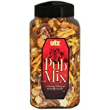 Utz Pub Mix - 44 Ounce Barrel - Savory Snack Mix, Blend of Crunchy Flavors for a Tasty Party Snack - Resealable Container - C
