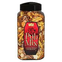 Utz Pub Mix - 44 Ounce Barrel - Savory Snack Mix, Blend of Crunchy Flavors for a...