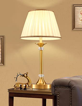 Cjshv Alle Kupfer Lampe Lampe American Country Schlafzimmer