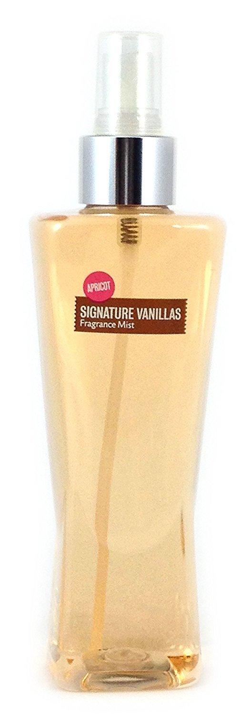 Bath Body Works Fragrance Mist Splash Signature Vanillas Apricot