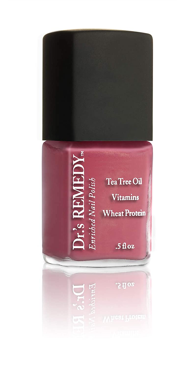 Dr.'s Remedy Enriched Nail Polish - RELAXING Rose, 0.5 Fluid Ounce
