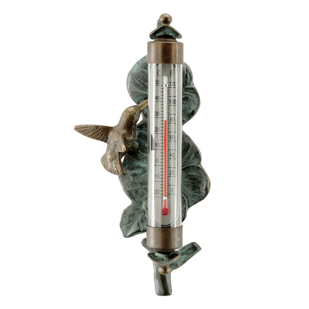 SPI Home 33314 Hummingbird Wall Mounted Thermometer