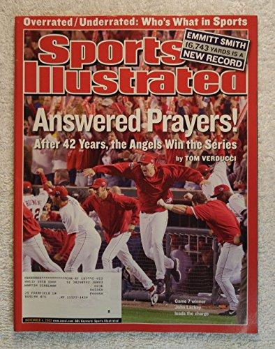 John Lackey - Anaheim Angels - 2002 World Series Champions! - Sports Illustrated - November 4, 2002 - San Francisco Giants - ()