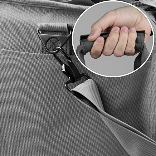 Osage River Tactical Shooting Gun Range Bag (Gunmetal Grey, Light Duty (13.5 x 10.5 x 7.5) Inches) by Osage River (Image #7)