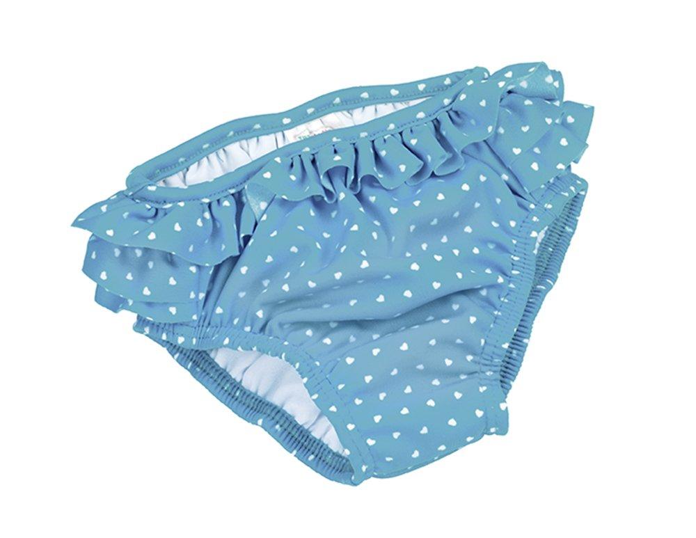Fashy Little Stars Babies Frills Nappy Pants-Tourquoise/White, 62/Size 68 1558 52