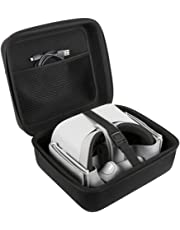 Oculus Go Case JSVER Hard case for Oculus Go, Travel Protective Carrying Case for Oculus Go/Oculus Quest/Samsung Gear Virtual Reality Headset Gamepad Game Controller Kit, Oculus Quest Case (Black)