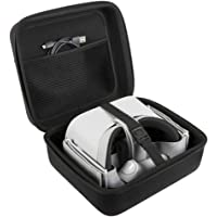 JSVER Gear VR Case Travel Storage Carrying Case Protective Bag for Oculus Go/Oculus Quest VR/Samsung Gear Virtual Reality Headset Gamepad Game Controller Kit