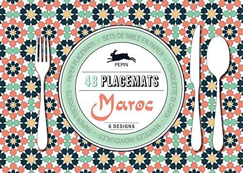 Maroc : 48 placemats