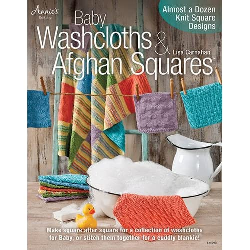 Baby Washcloths Afghan Squares Almost A Dozen Knit Square Designs