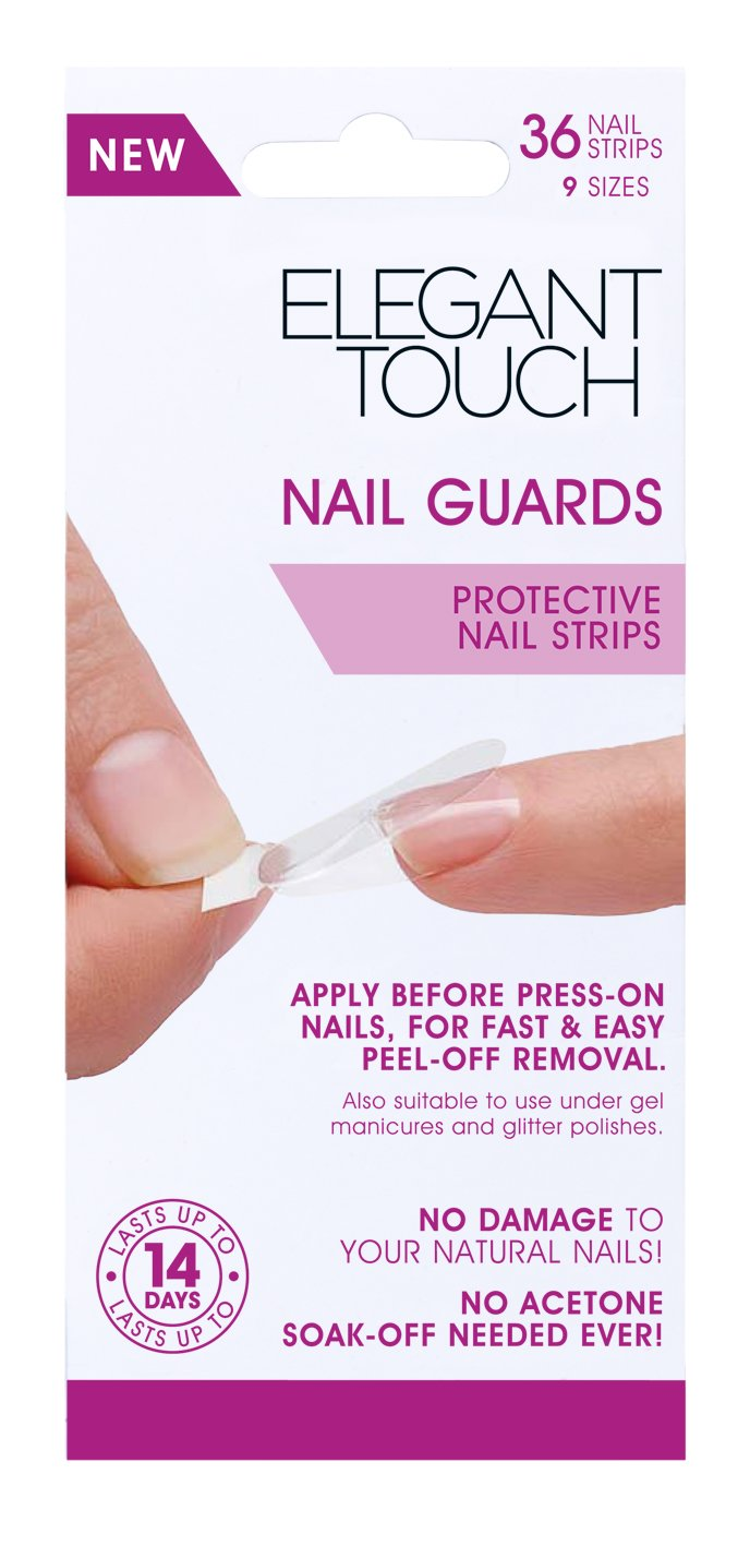 Amazon.com : Dashing Diva Nail Guard Protective Strips, 54 ct : Beauty