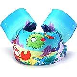 Ehior Kids Swim Life Jacket Vest for Toddlers Swim Aid Floatation Devices Puddle Jumper Boating Swim Floatation Sleeves 25-55lbs