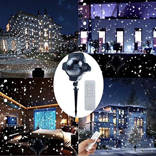 Outdoor Led Snowflake Christmas Lights - 7