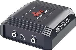 DBX DB10 pasiva DI Box: Amazon.es: Instrumentos musicales