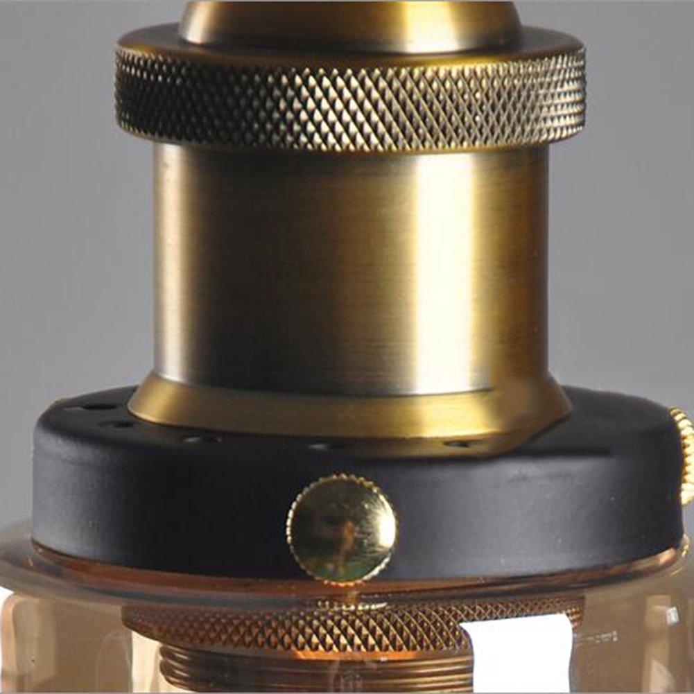 verre abat-jour pour Light Lamp Retro Industrial Glass Ceiling Lamp Shade r/étro ombre de la lampe industrielle