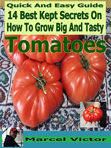 Grow Tomatoes: 14 Best Kept Secrets On Growing Big And Tasty Tomatoes for salsas,sauces,tomato juice and many more tomato recipes. (vitamins in tomatoes,calories ... seeds,tomato cookbook Book 2018)