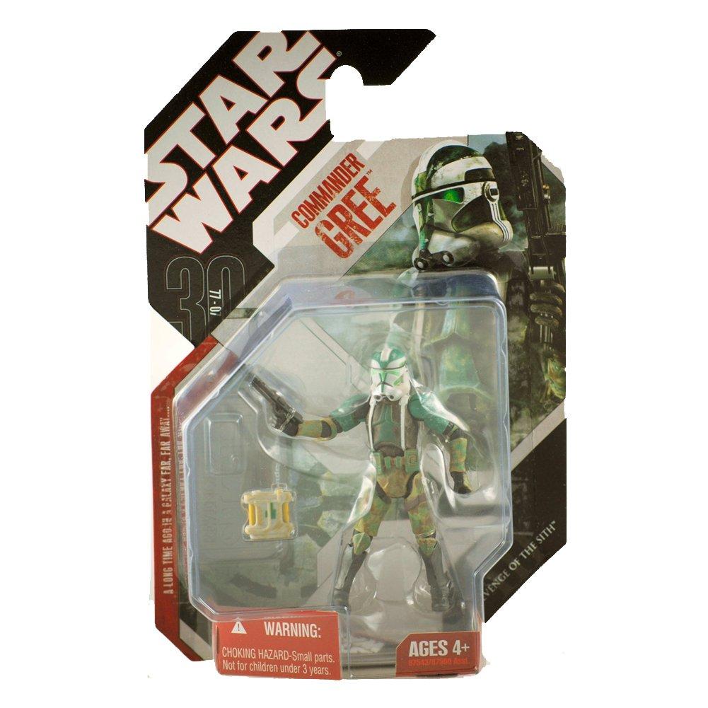 Star Wars Saga 2008 30th Anniversary Wave 1 Action Figure Commander Gree