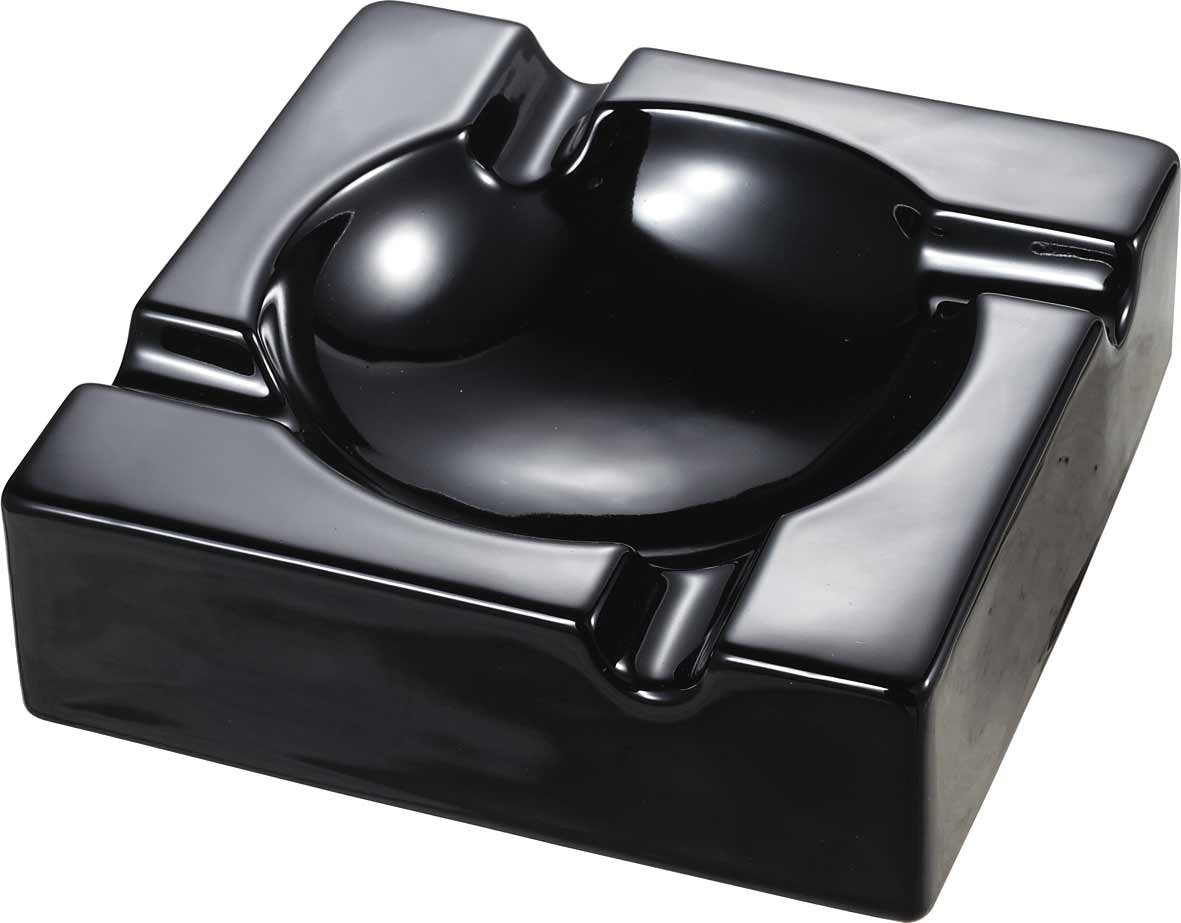 Amazon.com: Visol VASH903 Donovan Black Ceramic Cigar Ashtray For Patio  Use: Automotive Ashtrays: Kitchen U0026 Dining